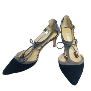 Boden Alice Tassel T-Strap heels, sz 37.5